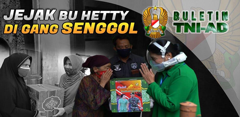 Jejak Bu Hetty di Gang Senggol | Buletin TNI AD