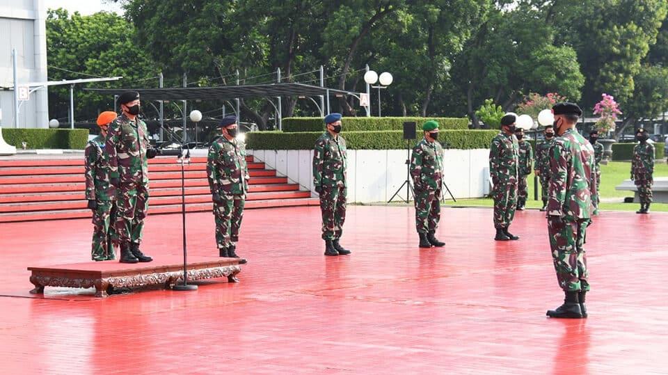 Wakasad Hadiri Kenaikan Pangkat 84 Perwira Tinggi TNI