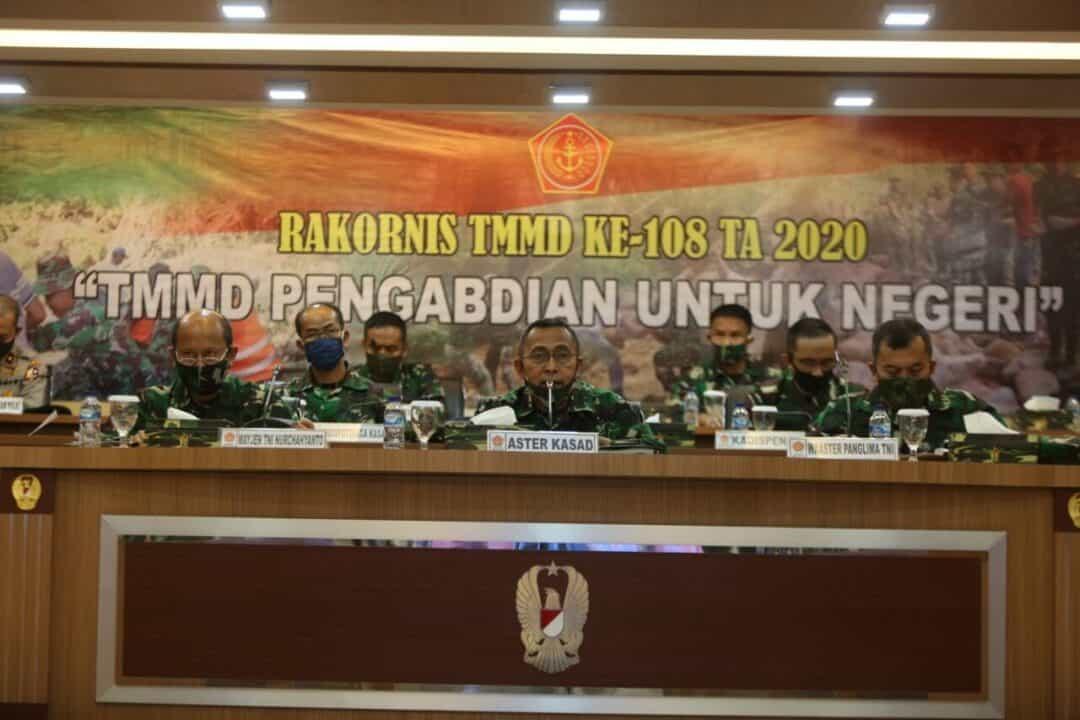 Rakornis TMMD ke-108, Pengabdian untuk Negeri