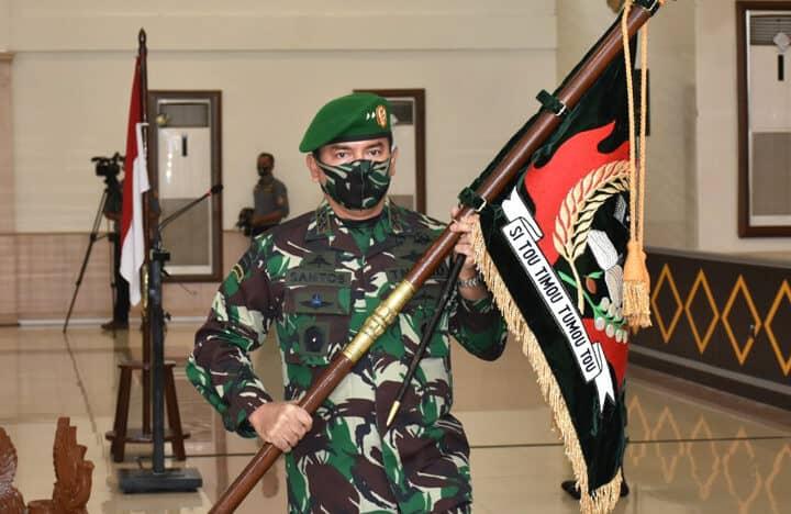 Pangdam Pimpin Sertijab Pejabat Teras Kodam XIII/Merdeka