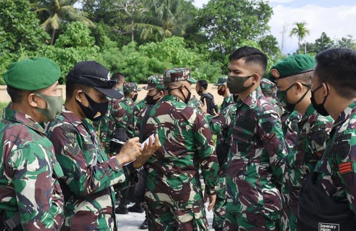 Personel Satuan BKO Kodim Persiapan Kodam XVIII/Kasuari Gelombang III Mulai Tiba