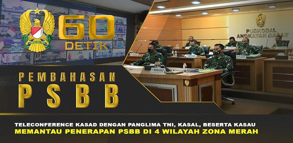 Arahan Panglima TNI Terkait Disiplin Protokol Kesehatan Covid-19 | 60″ TNI AD