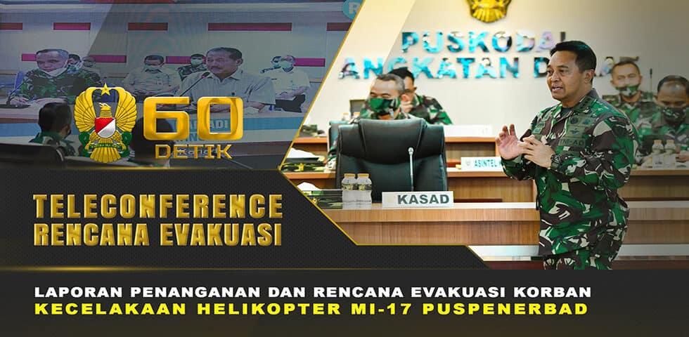 Kasad Memantau Penanganan Pasien Korban Kecelakaan Helikopter MI-17 | 60″ TNI AD