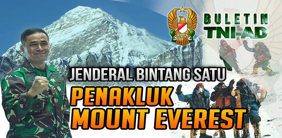 Jenderal Bintang Satu Penakluk Mount Everest
