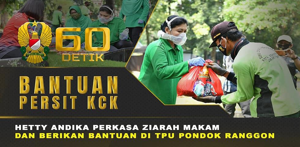 "Kegiatan Jumat Barokah Persit KCK ke TPU Pondok Ranggon I 60"" TNI AD"