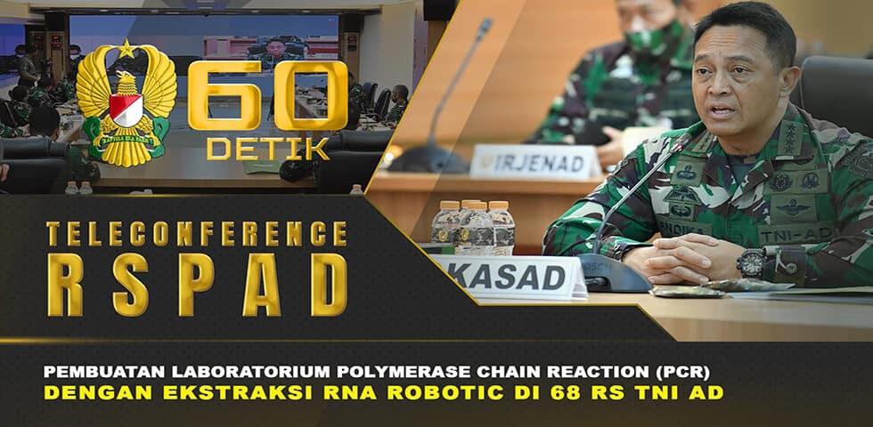 """Pembuatan Laboratorium PCR dengan Ekstrasi RNA Robotic di 68 RS TNI AD I 60"""" TNI AD"""