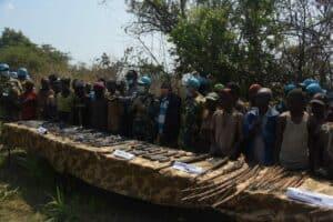 Akhiri Pertikaian, Satgas Indo RDB Monusco Mediasi Tiga Suku di Kongo