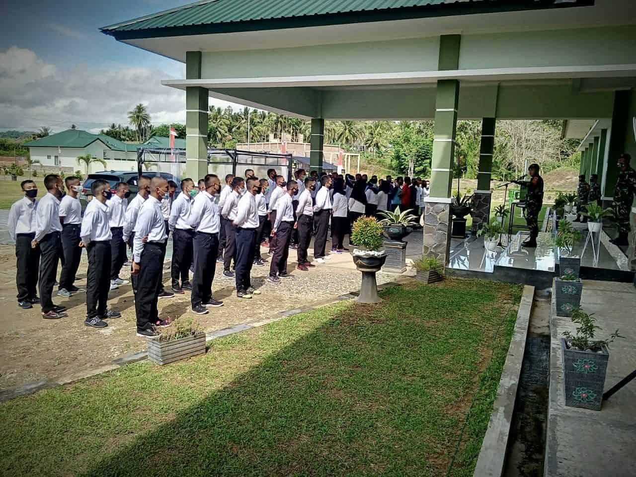 Kodim 1314 Beri Pembinaan 180 Pendaftar Secaba PK TNI AD TA 2020