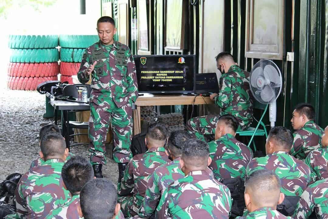 Danbrigif 20/3 Kostrad Cek Kesiapan Satgas Pamrahwan Yonif 754