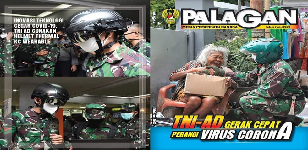 TNI AD Gerak Cepat Perangi Virus Corana
