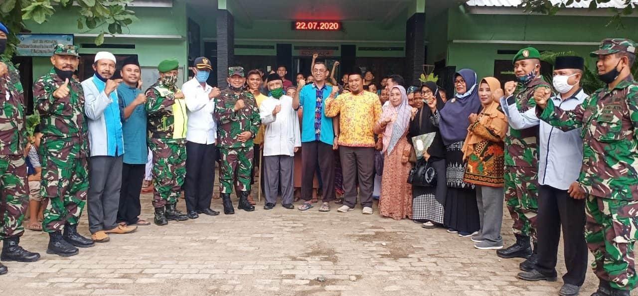 Brigjen TNI Achmad Said Beri Motivasi Santri Ponpes Al Husaini di Kota Bima