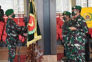 Kasad Pimpin Sertijab Pangdam XVI/Pattimura dan Kapushubad serta Laporan Korps Kenaikan Pangkat 20 Pati