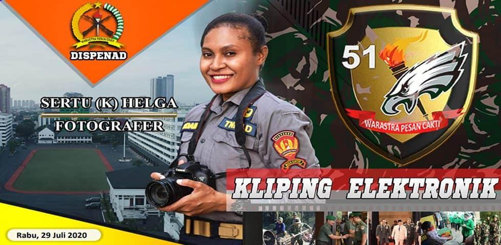 Kliping Elektronik Rabu 29 Juli 2020