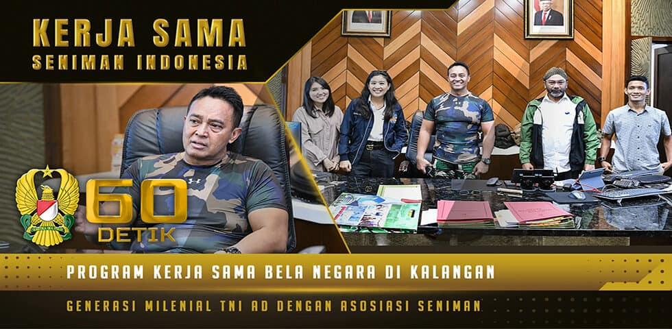 Pertemuan Kasad dengan Perwakilan Seniman Indonesia dalam Program Bela Negara