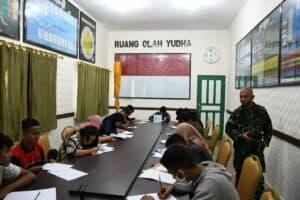 Buka Peluang Jadi Prajurit, TNI AD Bekali Anak Sultra Psikologi