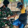Cek Kesehatan Masyarakat, Satgas Yonif RK 744 Patroli Kesehatan di Perbatasan