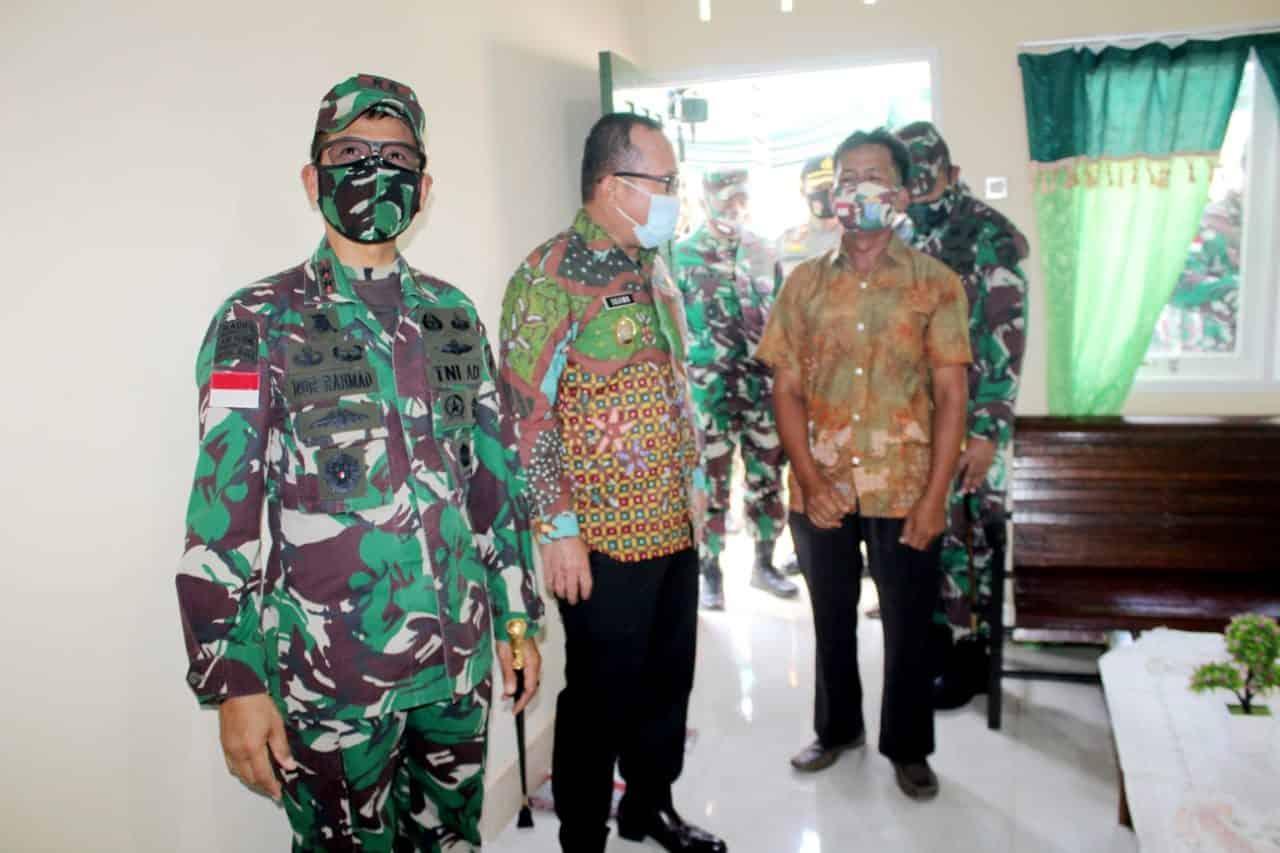 Bedah Rumah Bantuan Kasad Diapresiasi Wakil Bupati Kubu Raya