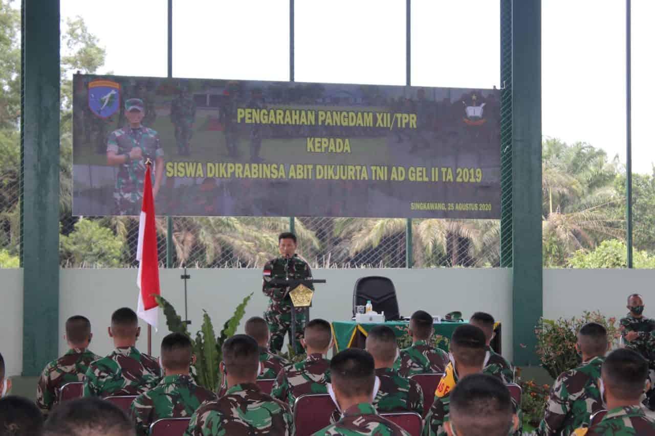 Lulusan Dikprabinsa Untuk Penuhi Kebutuhan Babinsa Kodam XII/Tanjungpura