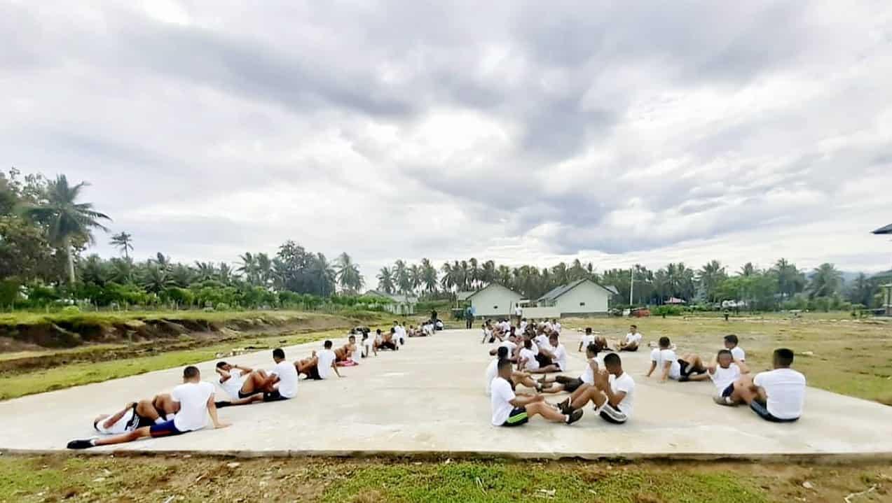 Bangun SDM Unggul, Kodim 1314 Lakukan Pembinaan Bagi Para Pemuda Gorontalo
