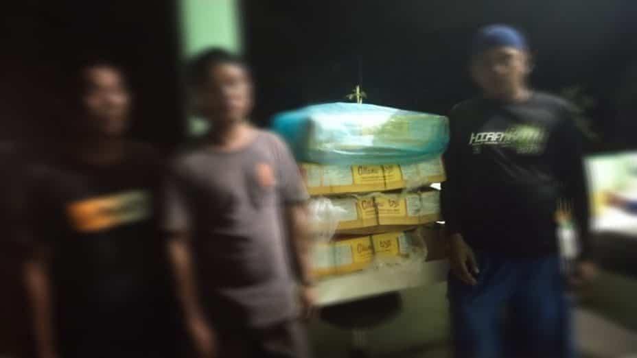Satgas Yonif 133/YS Gagalkan Penyelundupan Daging Sapi Ilegal Asal Malaysia