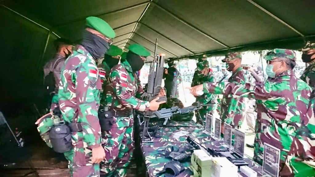 Tim Mabesad : Yonif 642/Kps Siap Jaga Perbatas RI-Malaysia