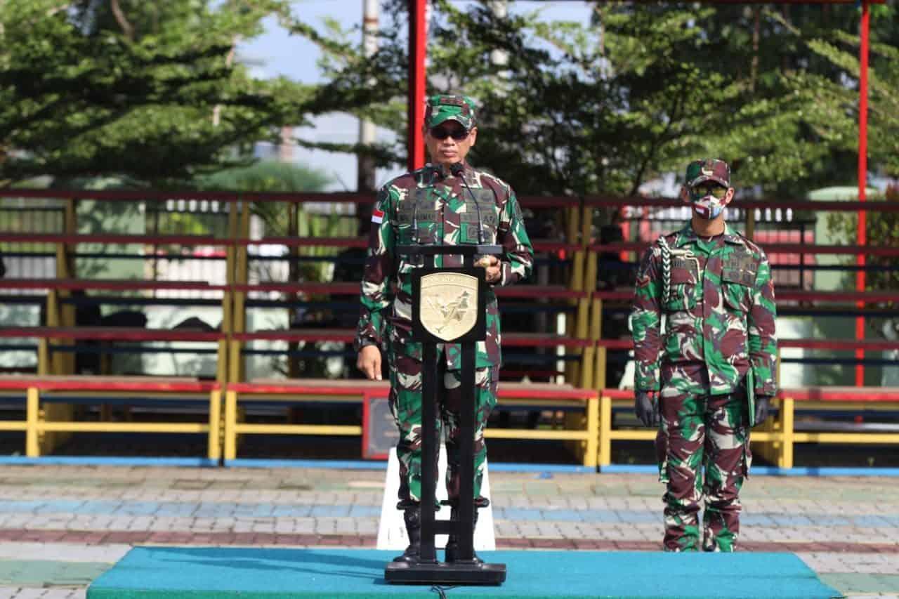 Pangdam XII/Tpr : Menjaga Perdamaian Dunia Kehormatan dan Tugas Mulia Prajurit TNI