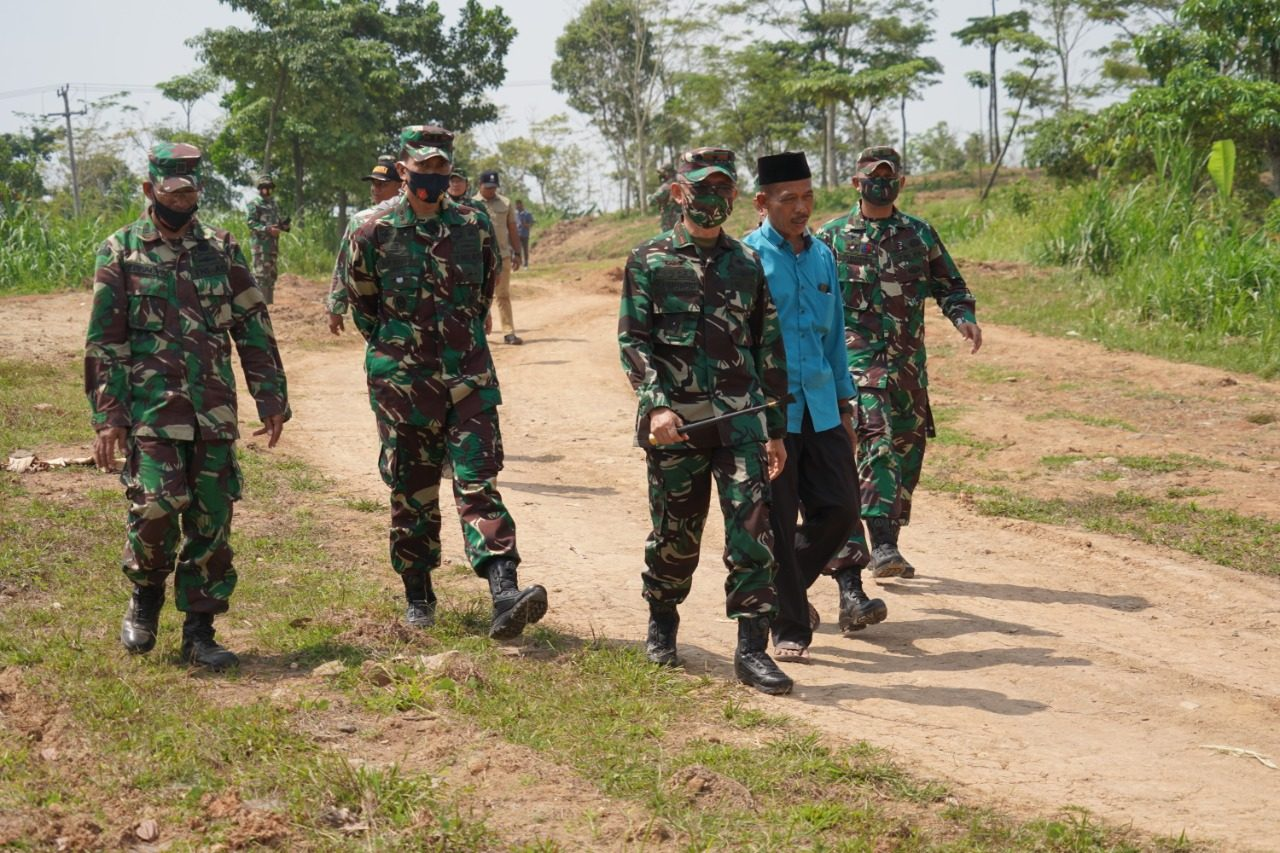 Korem 064/MY Siapkan 100 Hektar Lahan Untuk Demplot Ketahanan Pangan