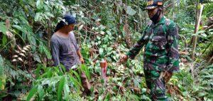 Hindari Konflik, Kodim 1208/Sambas Pastikan Patok Lahan Milik TNI AD Tidak Bergeser