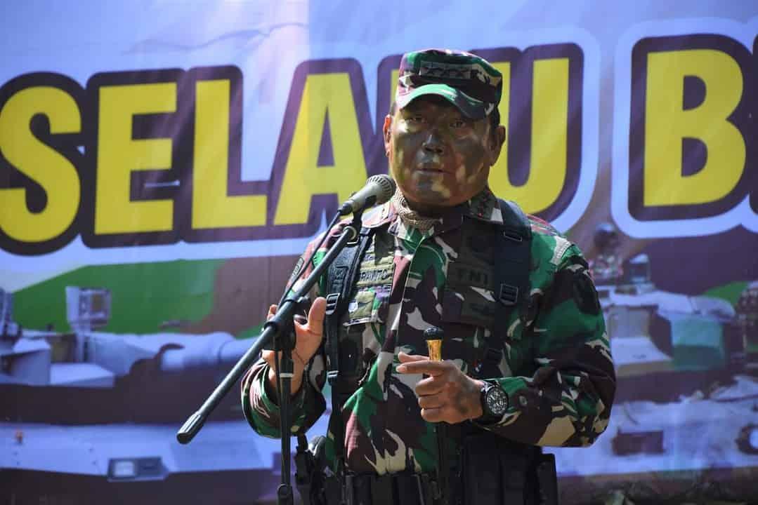 Dankodiklatad Tutup Penataran Pelatih Kader Yonif Siap Operasi