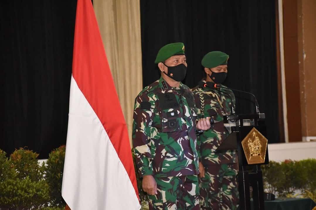 Dankodiklatad Buka Diklapa II Kecabangan TNI AD TA. 2020