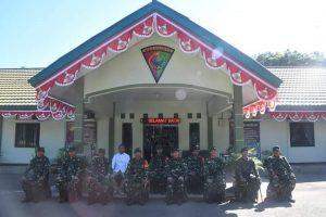 Pangdam XIII/Merdeka Kunjungi Yonif Raider 715/Motuliato