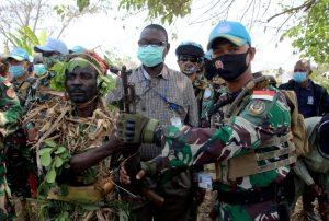 32 Milisi Kongo Serahkan Diri ke Satgas Indo RDB Monusco