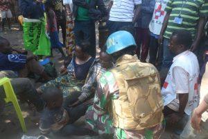 Satgas Indo RDB Monusco, Bantu Evakuasi Korban Penghadangan Bandit Bersenjata di Kongo