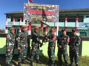 Percaya TNI, Warga Sunsea Sukarela Serahkan Senpi Kepada Satgas Yonarmed 3/105 Tarik