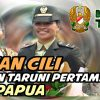 Letnan Cili, Lulusan Taruni Pertama Asal Papua