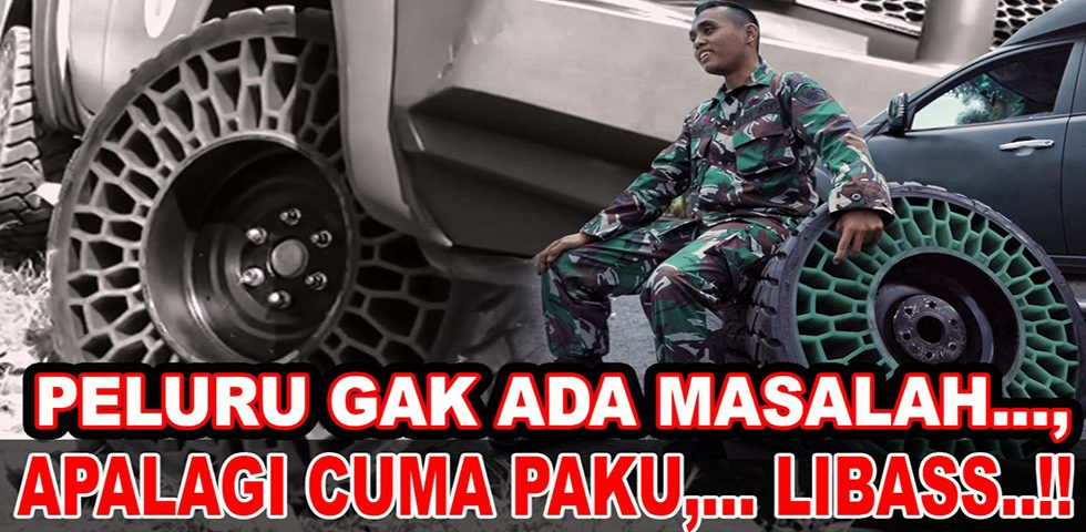 Rasakan Sensasi Ban Tanpa Udara | Gebrakan TNI AD dalam Teknologi Alutsista Part 3