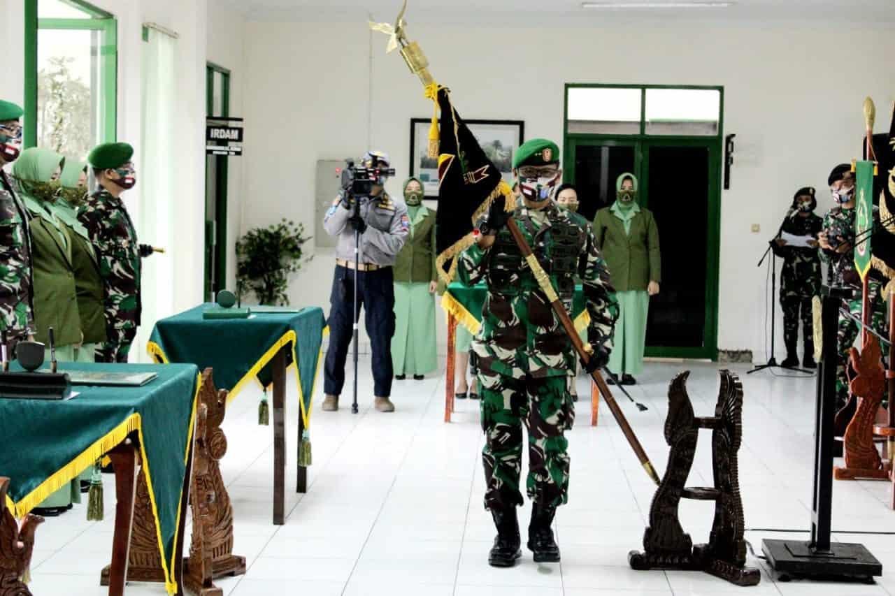 Beberapa Jabatan Strategis di Kodam XII/Tanjungpura Diserahterimakan