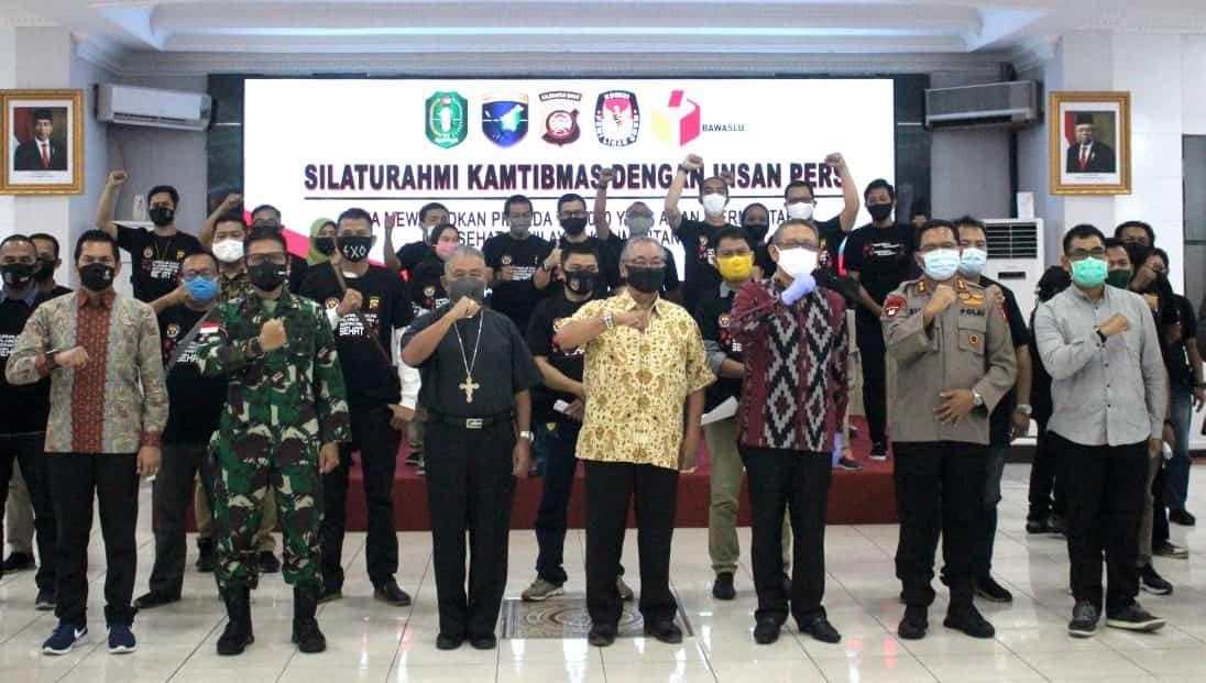Pangdam XII/Tpr : Peran Media Menjaga Persatuan Dengan Pemberitaan Berimbang