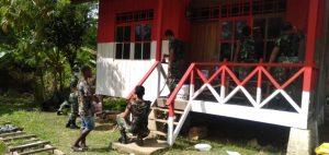 Rumah Merah Putih Satgas Yonif 413, Jiwa Nasionalisme Warga Kampung Mosso