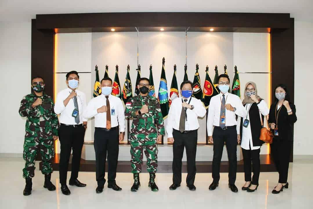 Bahas Rumah Murah Bagi Prajurit, Pangdam XII/Tpr Terima Kunjungan Bank BTN Pontianak