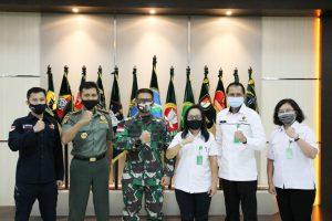 Bahas Konservasi Alam, Pangdam XII/Tpr Terima Kunjungan BKSDA Kalbar