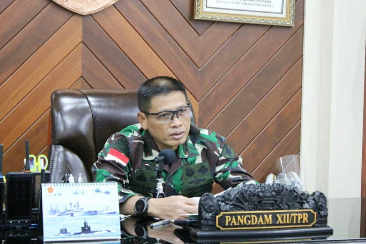 Hadiri Webinar HUT ke- 61 Paguyuban Sunda, Pangdam XII/Tpr Ajak Pelihara Bhinneka Tunggal Ika