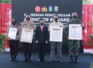 Pemprov NTB, Polda NTB dan Korem 162/WB Raih Penghargaan dari LEMKAPI