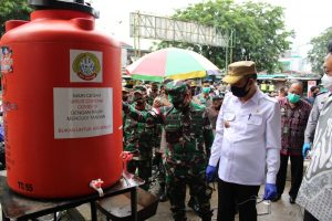 Canangkan Gerakan Wajib Masker, Gubernur dan Pangdam Tanjungpura Minta Warga Patuhi Protokol Kesehatan