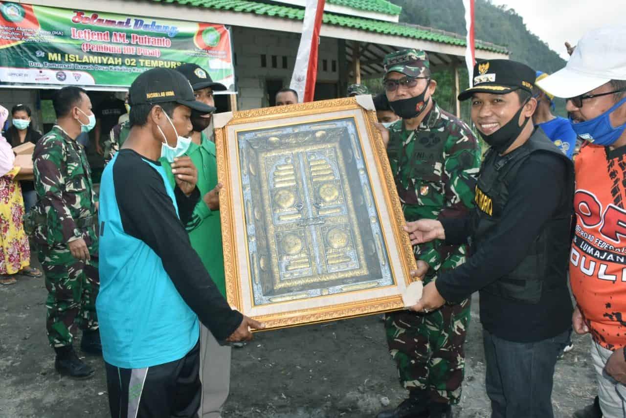 Kodiklatad Melaksanakan Bakti Sosial Bersama Forkompimda Kabupaten Lumajang
