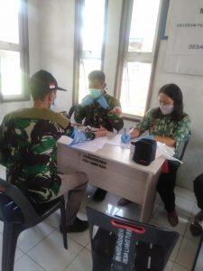 Satgas Pamtas Yonif 623/BWU Beri Layanan Kesehatan Bagi Warga di Ujung Kaltara