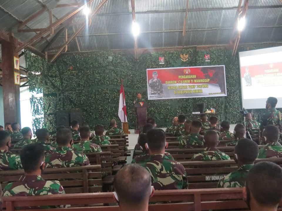 Jalankan Tugas Mulia, Danrem 174 ATW Hormat Pada Prajurit Penjaga Keamanan di Papua