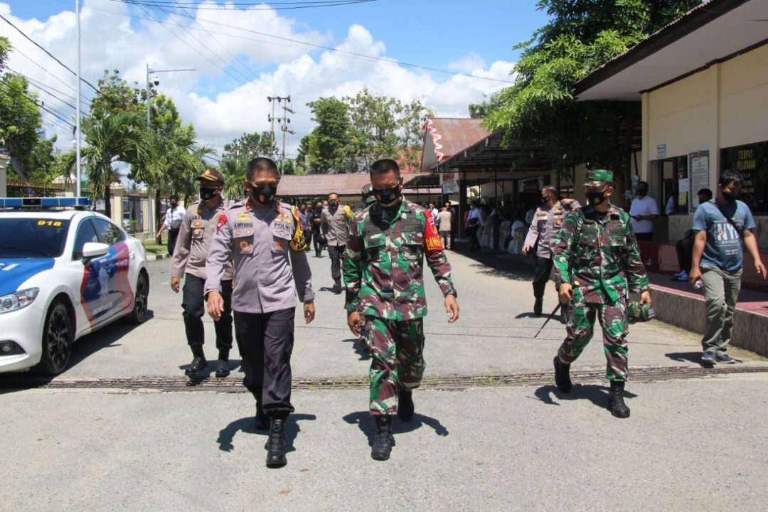 Danrem 133/NWB dan Kapolda Gorontalo Tatap Muka Dengan Forkopimda Wujudkan Pilkada Aman, Damai Demokratis Dan Sehat