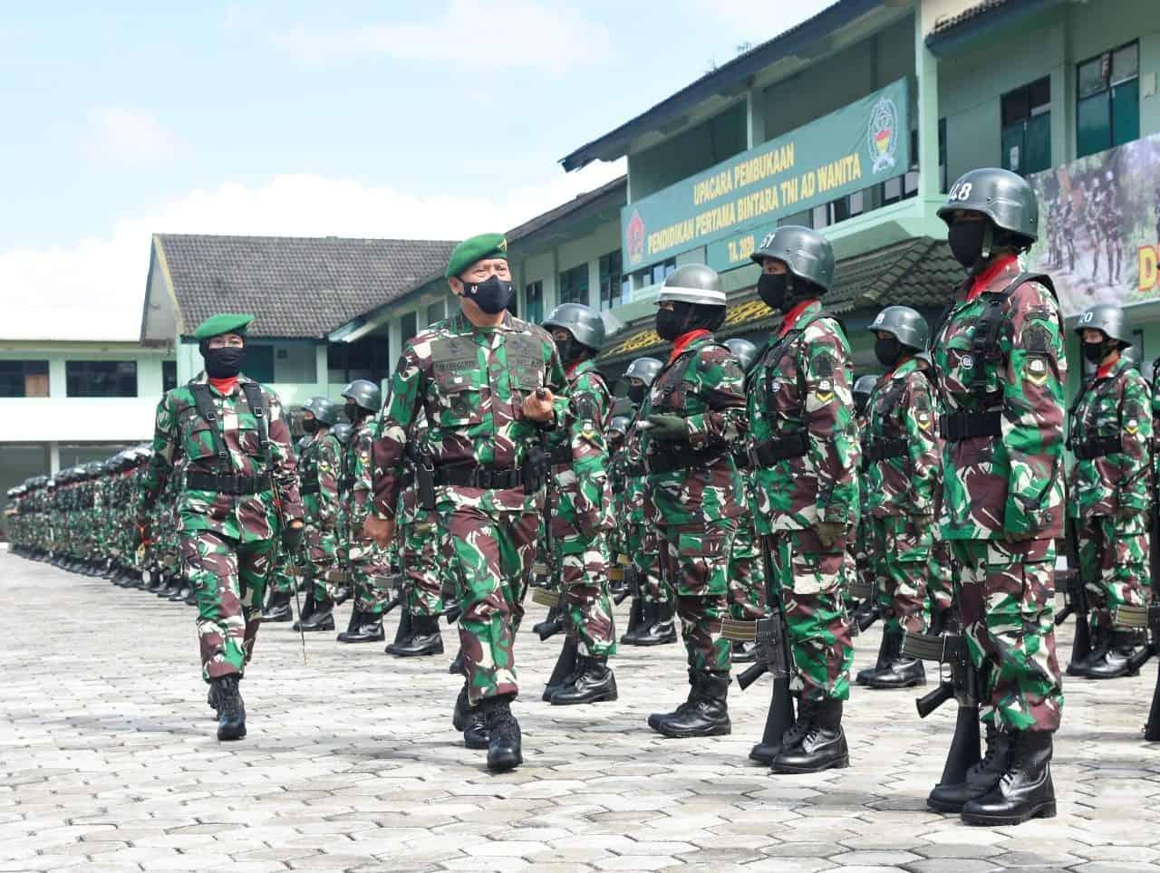 Dankodiklatad : TNI AD Berkomitmen Membentuk Sikap Prajurit Sapta Marga.