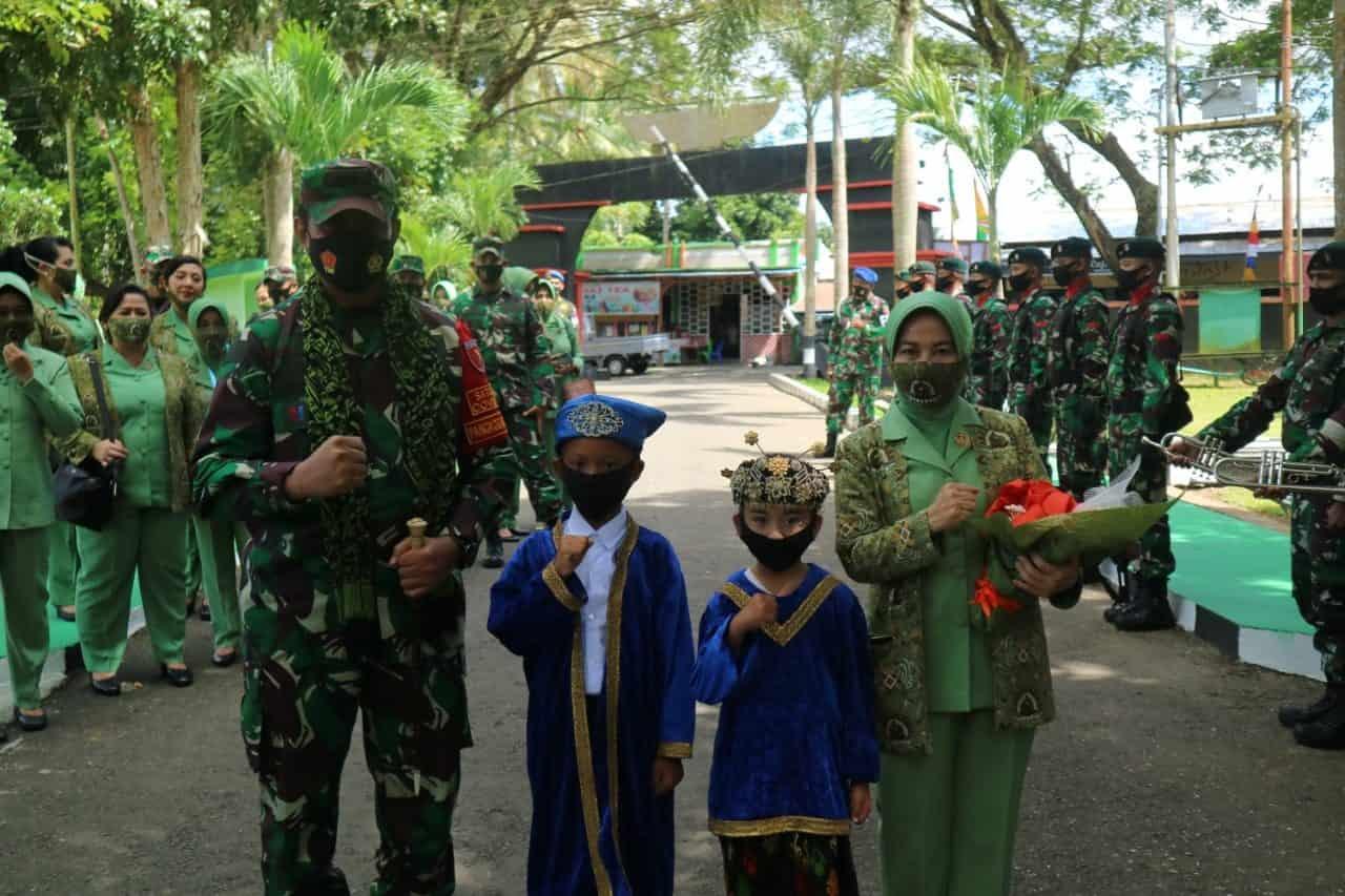 Berkunjung ke Maluku Utara, Pangdam XVI/Ptm sambangi Yonif RK 732/Banau